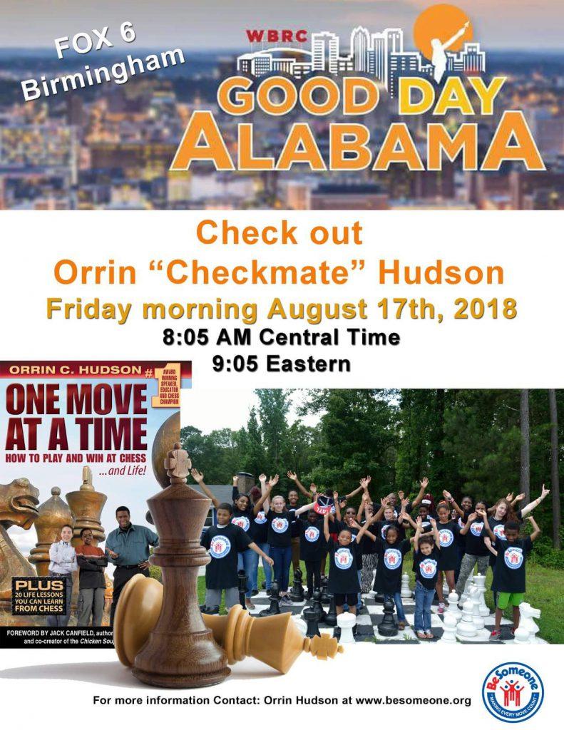 Orrin will live on Good Day Alabama  Fox News  – Be Someone